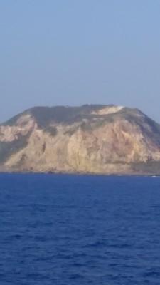 硫黄島の擂り鉢山